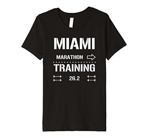 Runner Training Marathon (Kids Marathon Runners Training Tee 26.2 - Runners T-shirt 6 Black)