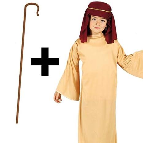 MFD Saint Joseph + Crook - Disfraz de Pastor de Navidad para niños ...
