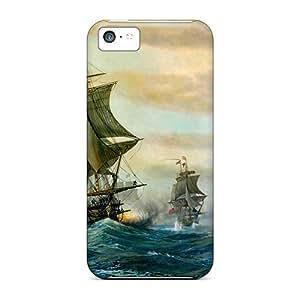 Cute CaroleSignorile Battle Ships Cases Covers For Iphone 5c wangjiang maoyi wangjiang maoyi by lolosakes
