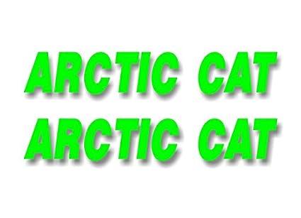 "ARCTIC CAT// 12/"" Vinyl Vehicle Graphic LARGE TRAILER Decal Sticker CAT HEAD"