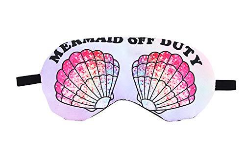 Novelty Mermaid Off Duty Cartoon Sleeping Eyes Mask