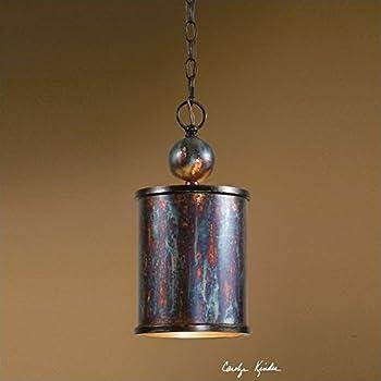 Uttermost 21920 Albiano 1-Light Mini Pendant & Amazon.com: Uttermost 21972 Akron 1 Light Copper Pendant Mini ... azcodes.com