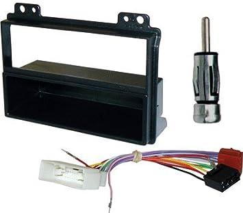Kit Radioblende Autoradio 1 DIN mit Schublade mehr Verkabelung ...