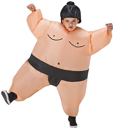 [Costumes For All Occasions SS22006G Kids Inflatable Sumo Costume] (Kids Costumes)