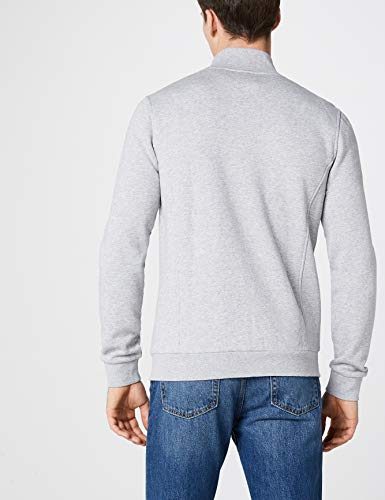 Chine Sh7616 Lacoste Gris argent Sudadera Hombre wSnxq7f