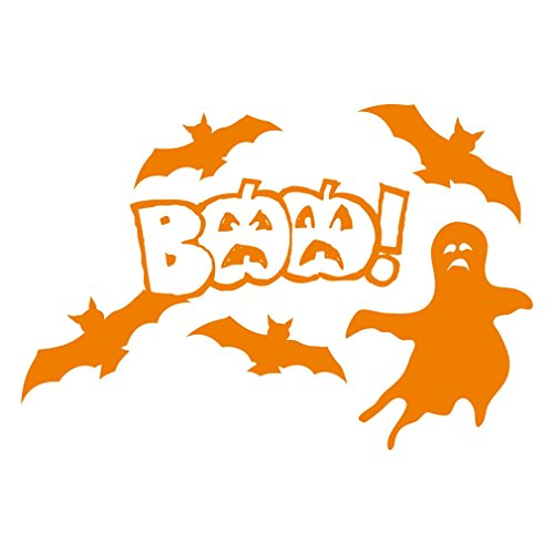 1336__O Wall stiker Halloween decorations, BAA! ( (Haunted House Ideas And Props)