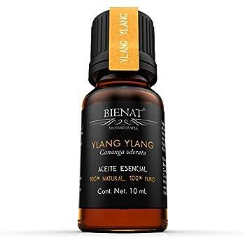 BIENAT AROMATERAPIA Aceite Esencial de Ylang Ylang 10mL