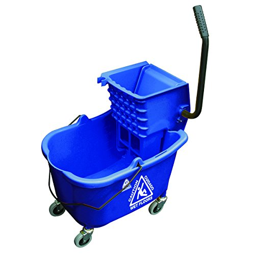 O'Cedar Commercial 6975 MaxiRough Mop Bucket and Wringer, Blue by O-Cedar Commercial