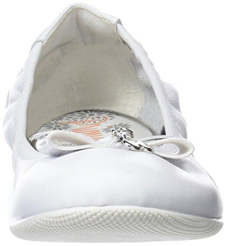 Bout 14380 Blanc bianco Primigi Fille Pff Fermé 55 Ballerines tpHnaxzq