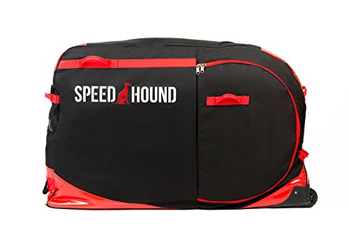 Speed Hound Flash Sale FREEDOM Road and Mountain Bike Travel Bag/Case (Black/Red)