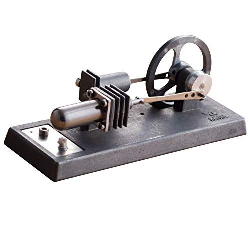 CHoppyWAVE Hot Air Stirling Engine Electric Generator Motor Steam Power Physical Learning Toy Science Experiments Kits,STEM Learning Sets for 8+ Year Old Kids
