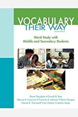 [(Vocabulary Their Way: Word Study with Middle and Secondary Students)] [Author: Shane R. Templeton] published on (May, 2014) Paperback