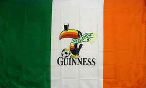 New 3Ftx5Ft Guinness Ireland Beer Irish Flag Sign