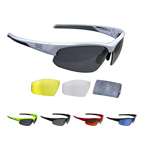 BBB Cycling, BSG-58, mountainbike sportbril met wisselglazen Impress polycarbonaat