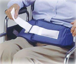 (Skil Care Resident Release Soft Belt Velcro Closure Universal Size Padded Washable - Model 301250)