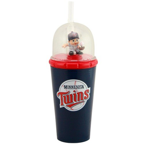 MLB 8' Wind Up Mascot Sippy Cup (Set of 2) MLB Team: Minnesota Twins