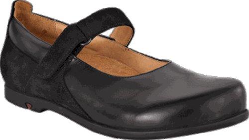Footprints Schuhe ''Wiesbaden'' aus echt Leder in Schwarz