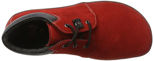 Unisex Runner Red de Kari Zapatos Adulto Derby Rot Cordones Sole zqT4OnxO