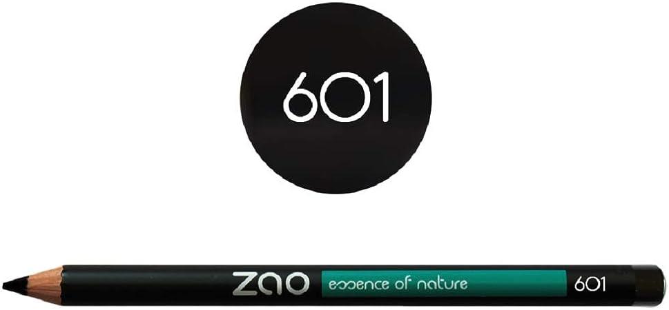 Zao Organic Makeup - lápiz delineador de ojos negro: Amazon.es ...