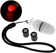 SecurityIng 1Pc Underwater Strobe Signal Light Scuba Night Dive Marker LED Flashy Safety Lamp Firefly Diving B