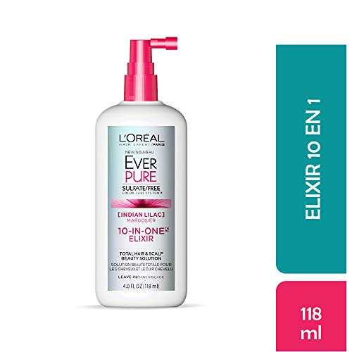 LOréal Paris EverPure Sulfate Free 10-In-1 Elixir, 4 fl. oz.