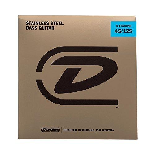 Dunlop DBFS45125 Flatwound Bass Strings Medium [並行輸入品]   B076YYJ12K