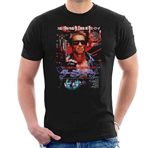Terminator The Japanese Movie Poster Men's T-Shirt Black