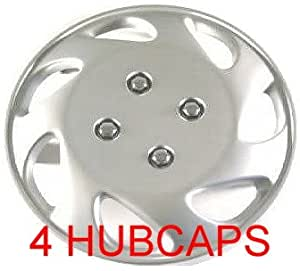 """14"""" SET OF 4 HUBCAPS 94-97 HONDA CIVIC WHEEL COVERS DESIGN ARE UNIVERSAL HUB CAPS FIT MOST 14 INCH wheels (1994 94 1995 95 1996 96 1997 97)"""