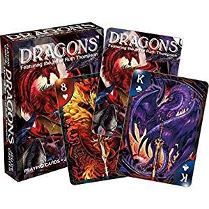 Aquarius Ruth Thompson Dragons Playing Cards