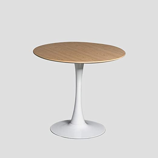 TYUIO Mesa de café nórdica Simple Superficie de Madera sólida Mesa ...