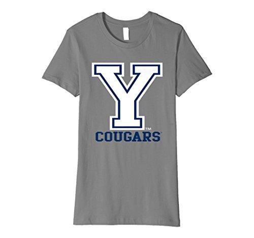 Womens BYU Cougars Brigham Young NCAA Women's T-Shirt PPBYU32 - University Young Fabric Brigham