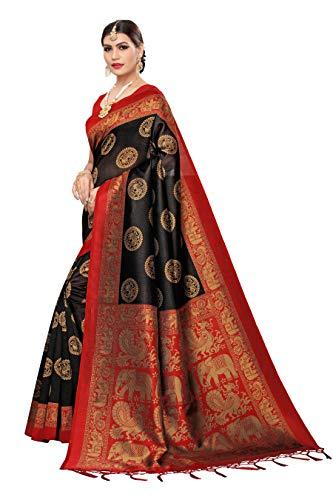 41NpZ6o%2BWqL Anni Designer Women's Art Silk Saree With Blouse