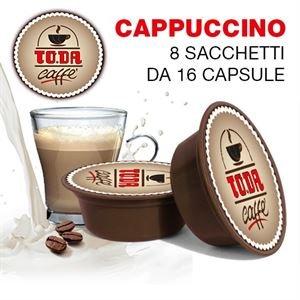 128 Cápsulas Di Cappuccino - Comp. Lavazza A Modo Mio - Gattopardo ...