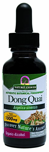 Nature's Answer Dong Quai Root with Organic Alcohol, 1-Fluid Ounce ()