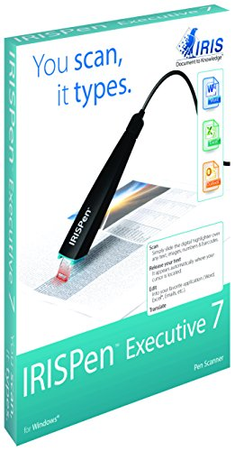 IRISPen Executive USB powered Digital Scanner