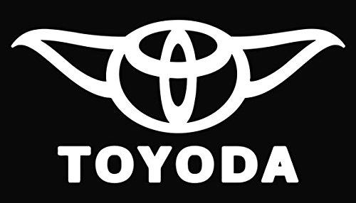 Toyoda Vinyl Decal Sticker White