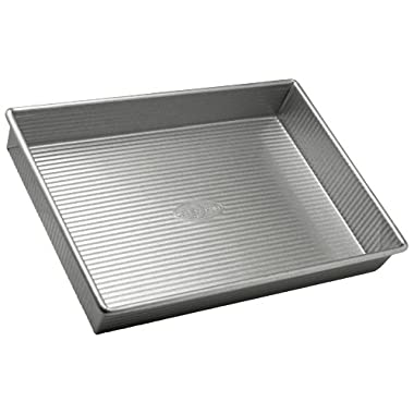 USA Pan Bakeware Aluminized Steel Rectangular Cake Pan