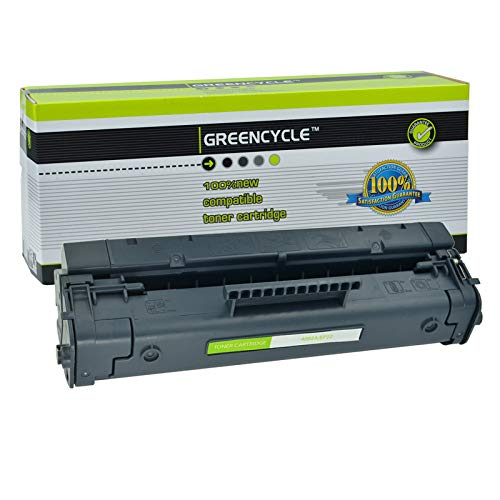 Greencycle 1 PK Compatible C4092A 92A Black Toner Cartridge for HP Laserjet 1100 3200 1100a -