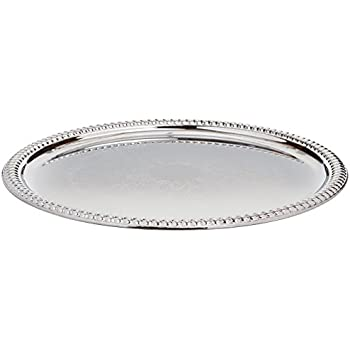 Famous Amazon.com | Winco CMT-14 Round Tray, 14-Inch, Chrome: Serving Trays MY86
