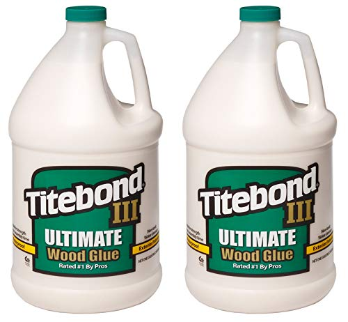 Titebond 1416 III Ultimate Wood Glue, 1-Gallon (Тwо Расk) by Titebond (Image #1)
