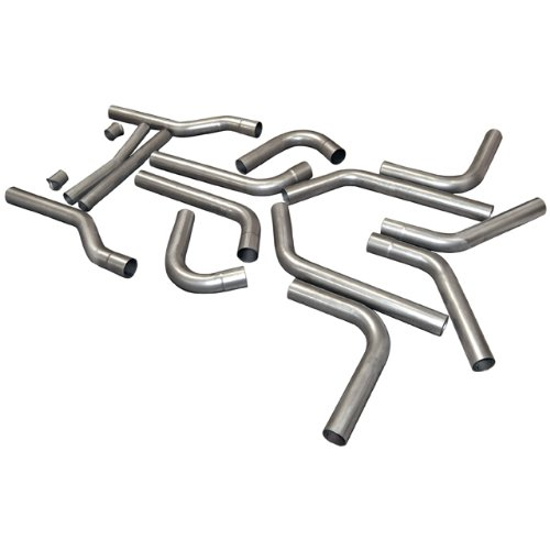 Flowmaster 815936 U-Fit Dual Exhaust Kit 409S - 2.50 in. - universal 16-piece pipes only