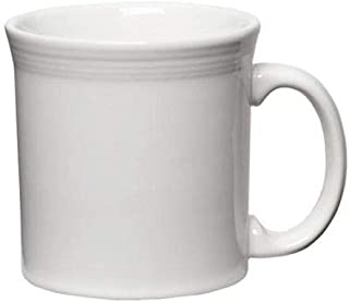 product image for Homer Laughlin China 570100 Fiesta White 12 oz Java Mug - 12 / CS