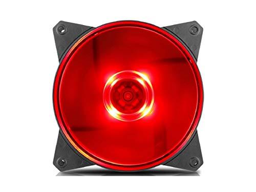 Ventilador Cooler Master R4-C1DS-12FR-R1 MF120L Red 12cm LED