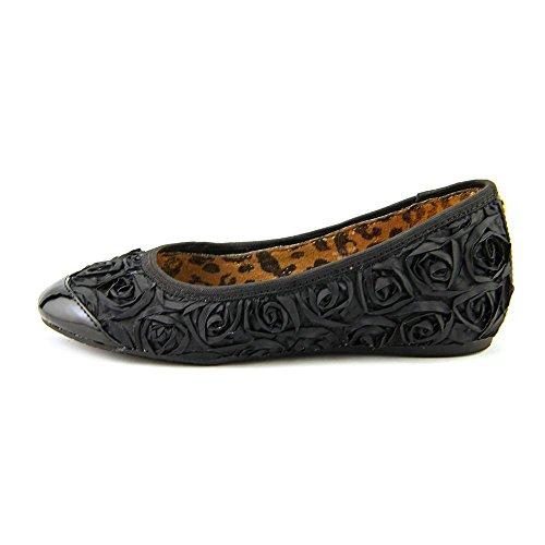 Kors Michael Kors Natasha Youth Girls Size 2 Black Flats Shoes