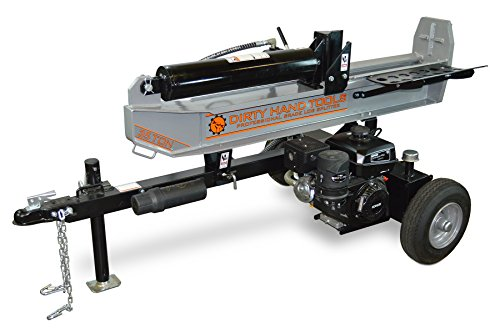 Dirty Hand Tools 100466 Log Splitter Horizontal/Vertical Gas, 35 Ton – 277cc Kohler CH395 Engine