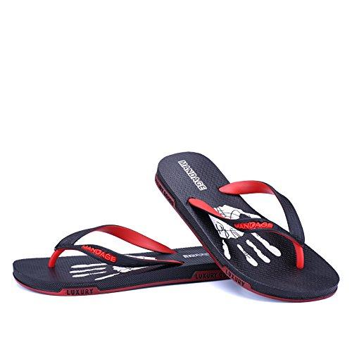 MOP verano frío de hombres antideslizante toe de calzado de zapatos del Zapatillas hombre playa sandalias personalidades blue TqxwXIE0w