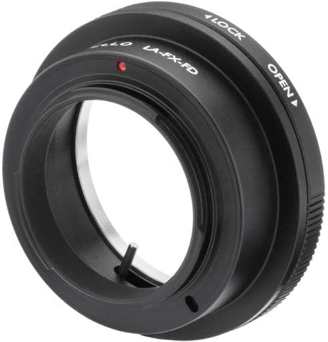 Vello Lens Adapter Compatible with Canon FD Lens to Fujifilm X-Mount Camera