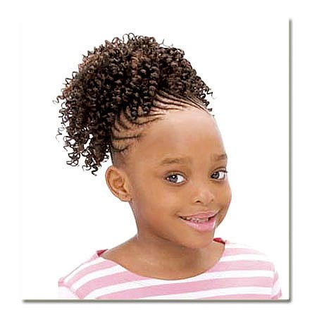FREETRESS Cork Screw Drawstring Ponytail For Kids ()