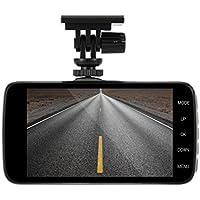 Car Dash Cam, LESHP Full HD 1080P Dash Cam Compact 4 inch IPS Screen Dual Core CPU 1200W H.264 140 Degree Super Wide Angle Car DVR Dash Camera Black