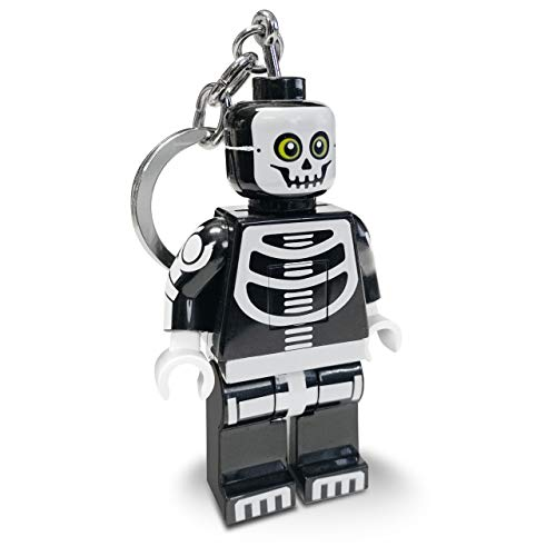 LEGO Monster Fighters Skeleton Key Light - Minifigure Key Chain with LED Flashlight
